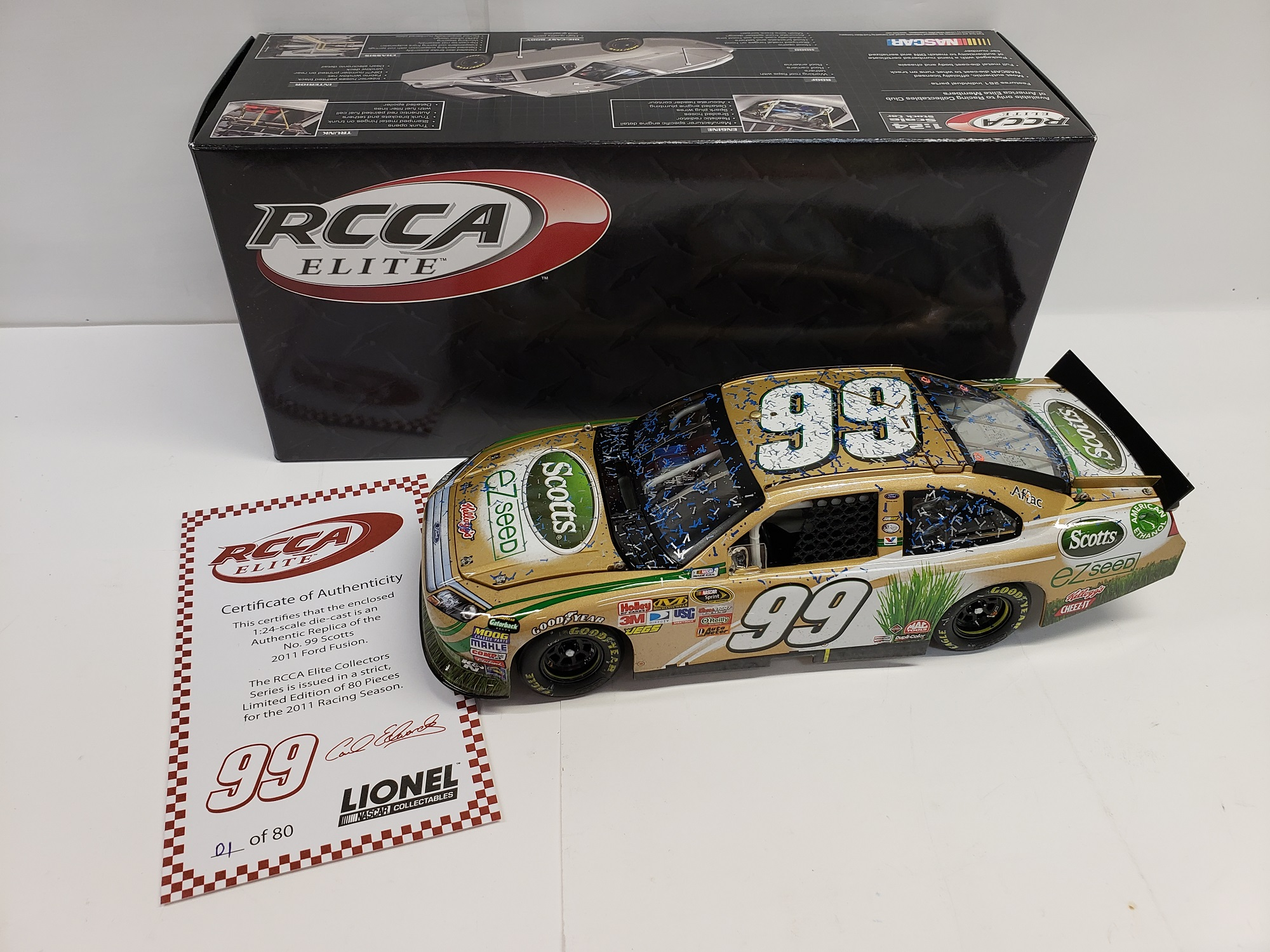 2011 Carl Edwards Scotts  RCCA Elite