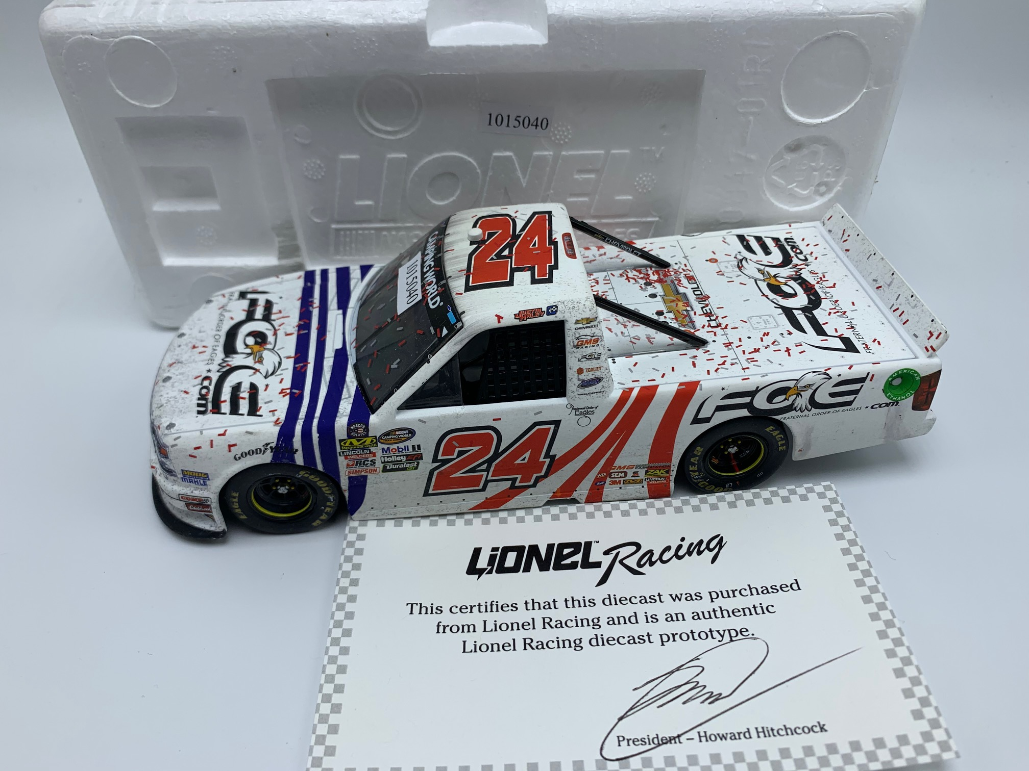 JUSTIN HALEY 2018 FOE 1:24 ST LOUIS WIN - PROTOTYPE