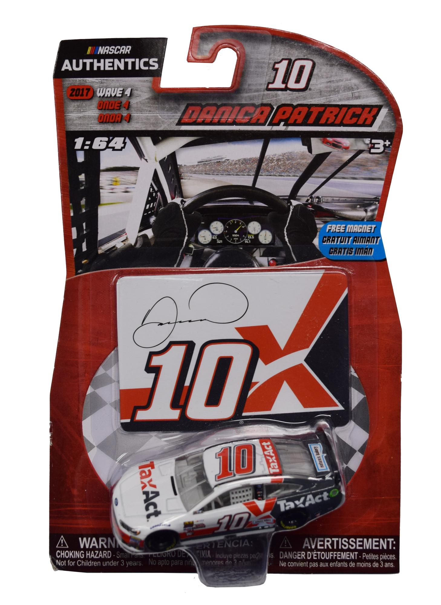 DANICA PATRICK 1/64 HT TAXACT WITH DIECAST MAGNET 2017