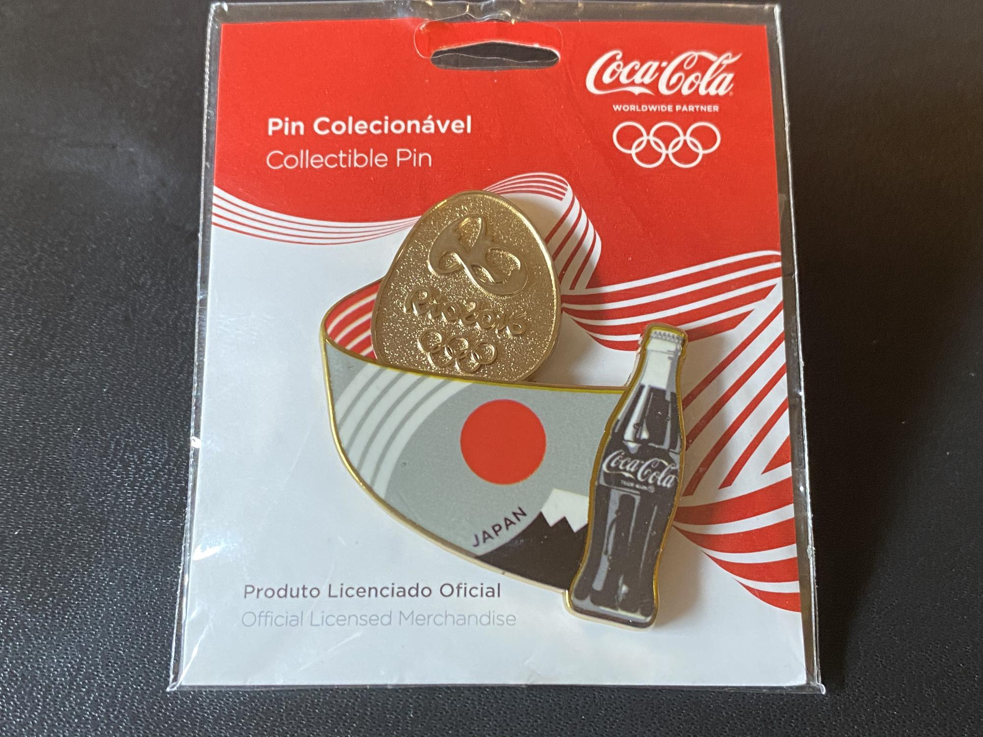 Coca-Cola Italy (Japan) Flag with Rio Pebble