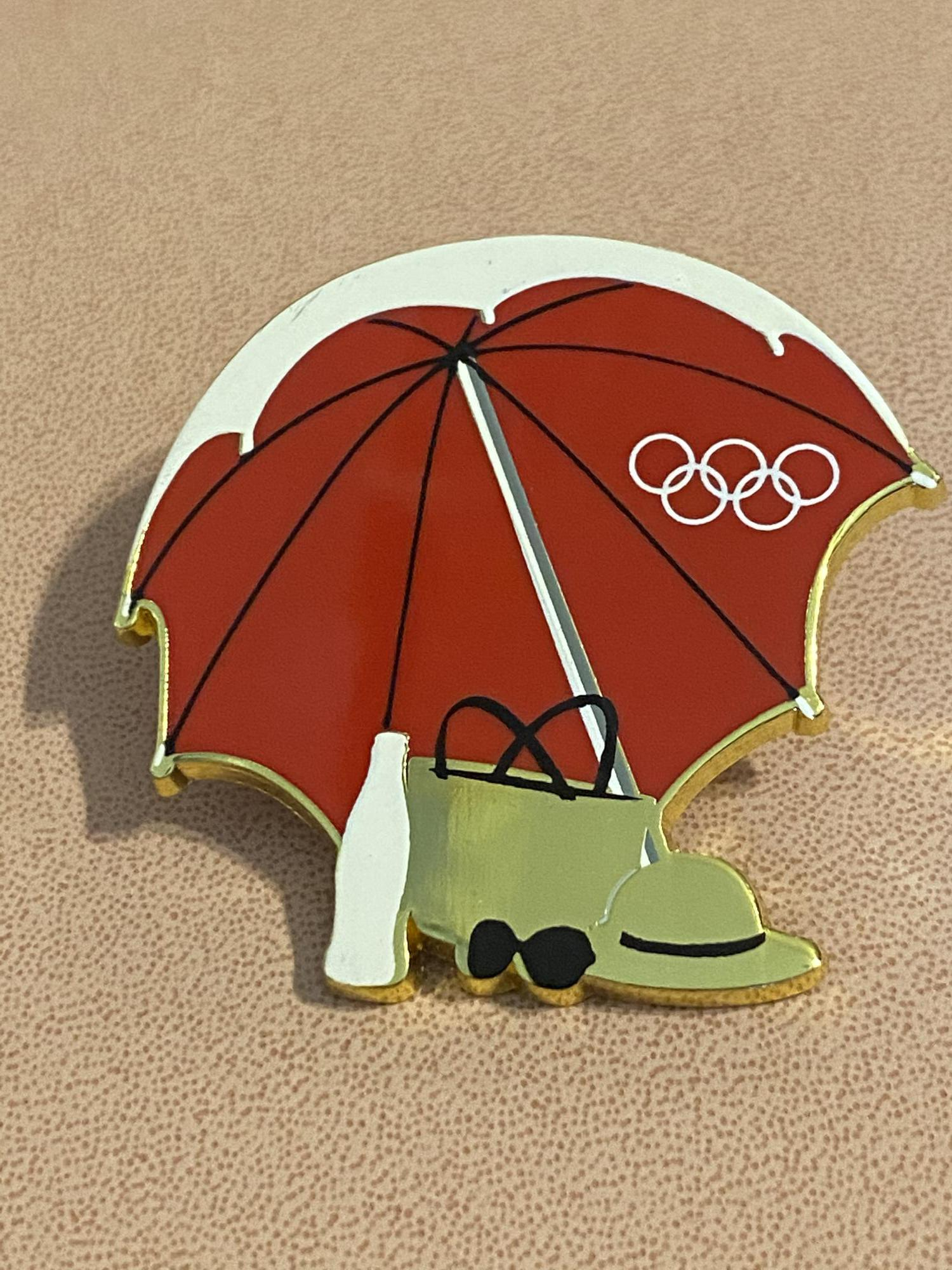 Coca-Cola (Coke) Umbrella Rio Pin