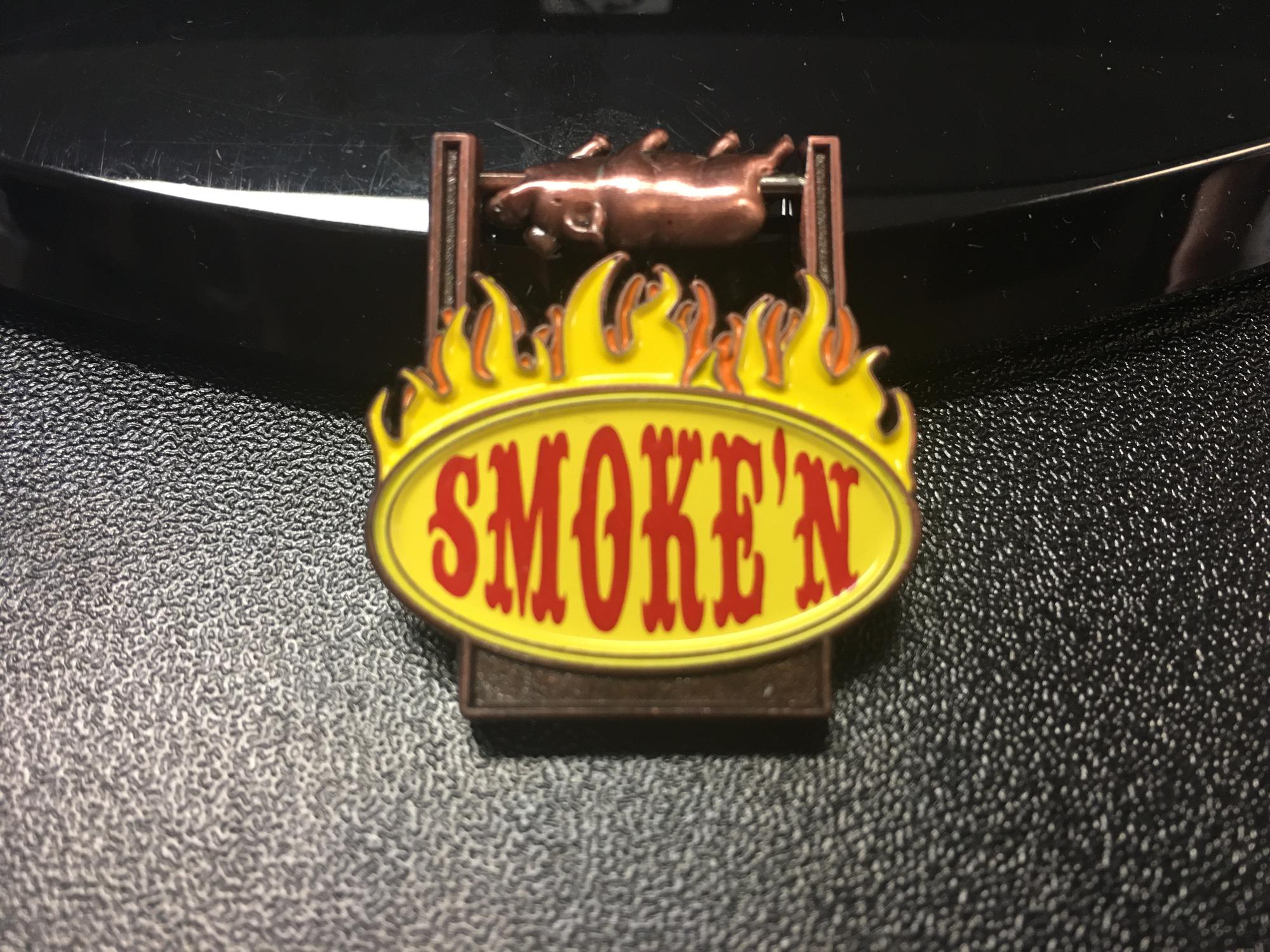 Pig on a Spit (Spinner) Smoke'n BBQ Pin