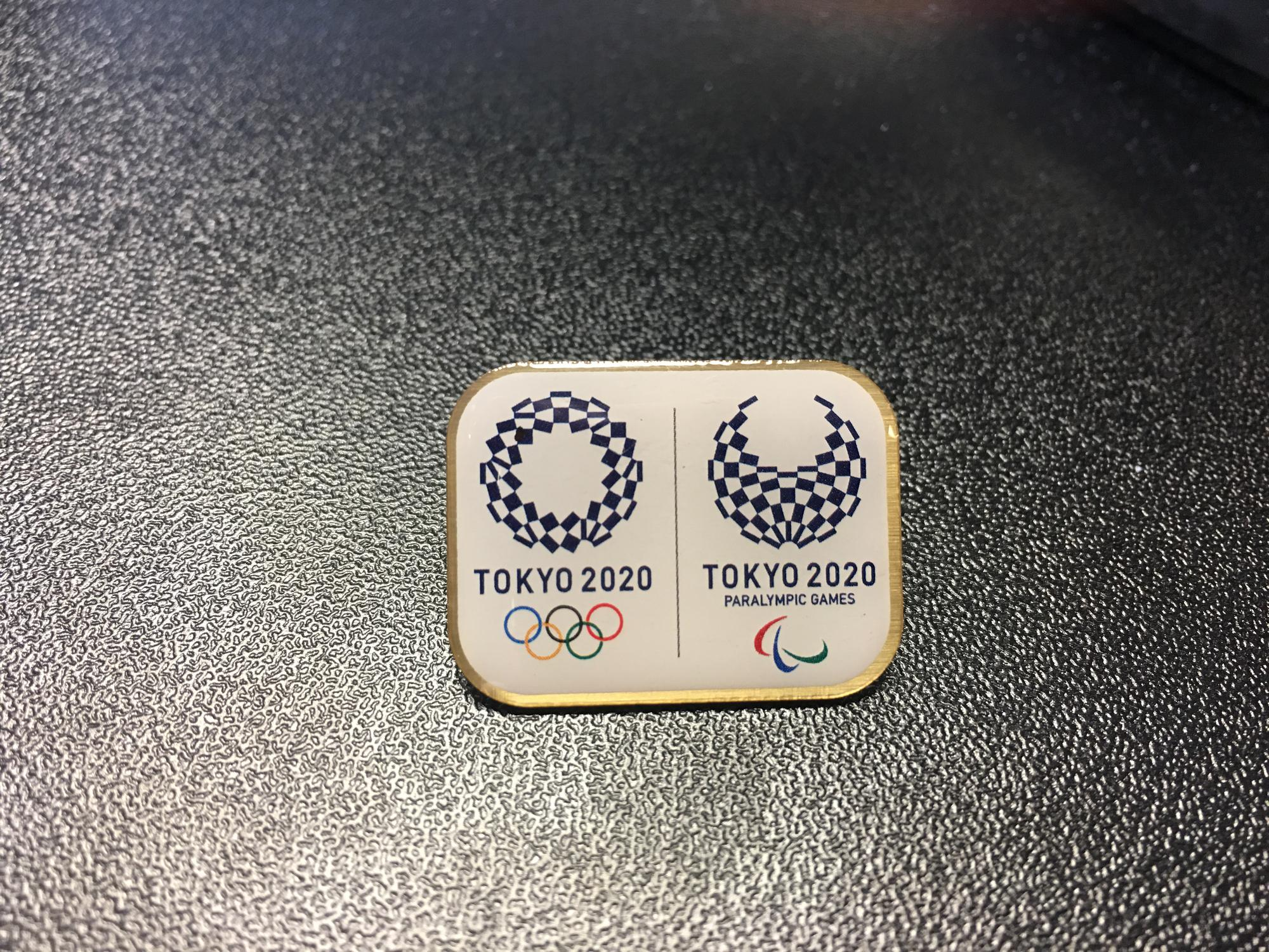 Tokyo 2020 Olympic and Paralympic Games Bid Pin (Post)