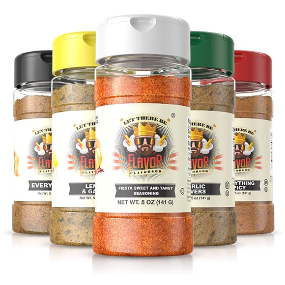 5 Bottle - Classic Combo Pack + Fiesta Sweet and Tangy Seasoning