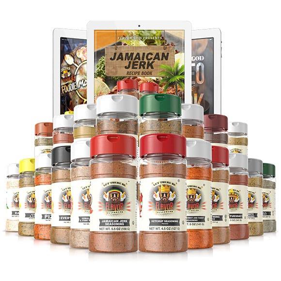 Flavorgod Chef Spice Rack (20 Pack)
