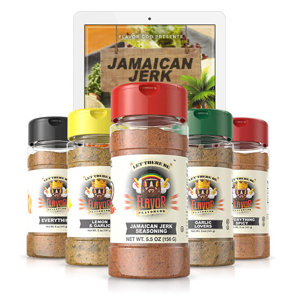 5 Bottle - Classic Combo Pack + Jamaican Jerk Seasoning