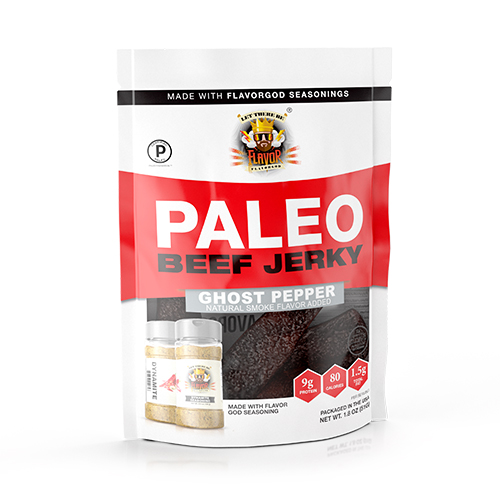 Flavor God Paleo Jerky - Ghost Pepper Dynamite
