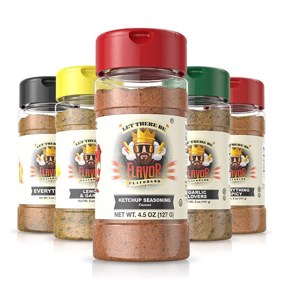 5 Bottle - Classic Combo Pack + Ketchup Seasoning