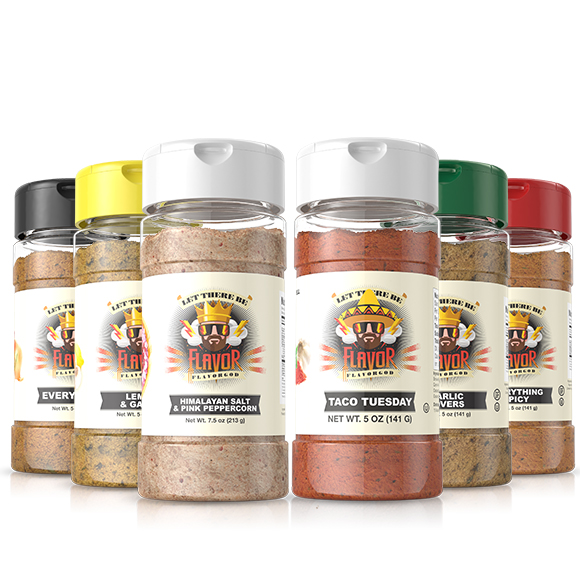 6 Pack - Classic Combo Pack + Taco Tuesday + Himalayan Salt Pepper