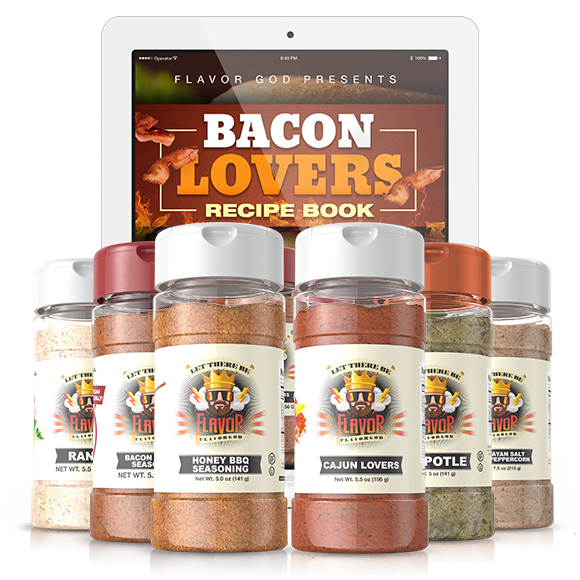 Summer 6 Pack - Bacon Lovers, Honey BBQ, Cajun Lovers, Chipotle, Ranch, Himalayan Salt and Pink Peppercorn