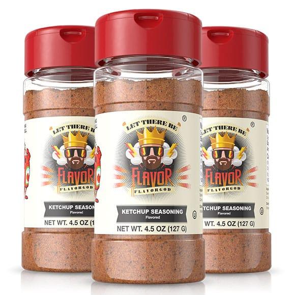 Ketchup Seasoning- 3 Bottle
