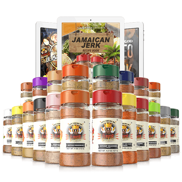 Flavorgod Chef Spice Rack (20 Pack)