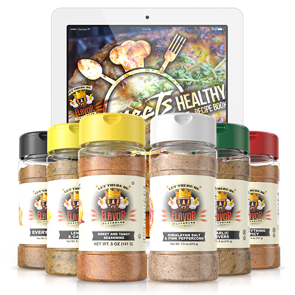 6 Pack - Classic Combo Pack + Sweet and Tangy + Himalayan Salt Pepper