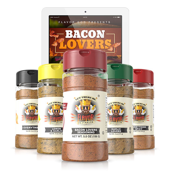 5 Bottle - Classic Combo Pack + Bacon Lovers