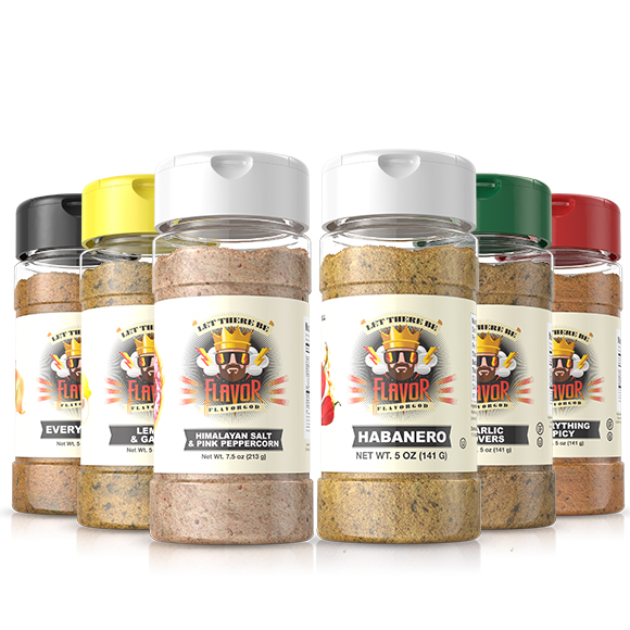 6 Pack - Classic Combo Pack + Habanero + Himalayan Salt Pepper