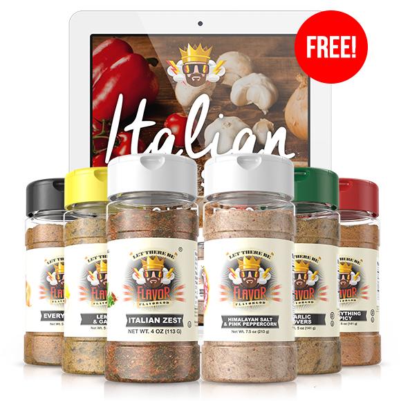 6 Pack - Classic Combo Pack + Italian Zest + Himalayan Salt Pepper