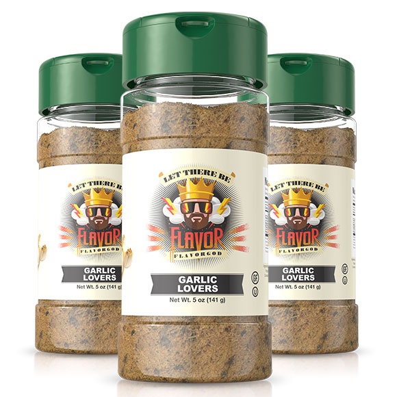 Garlic Lover's Seasoning- 3 Bottles
