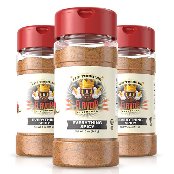 Spicy Everything Seasoning - 3 Bottles