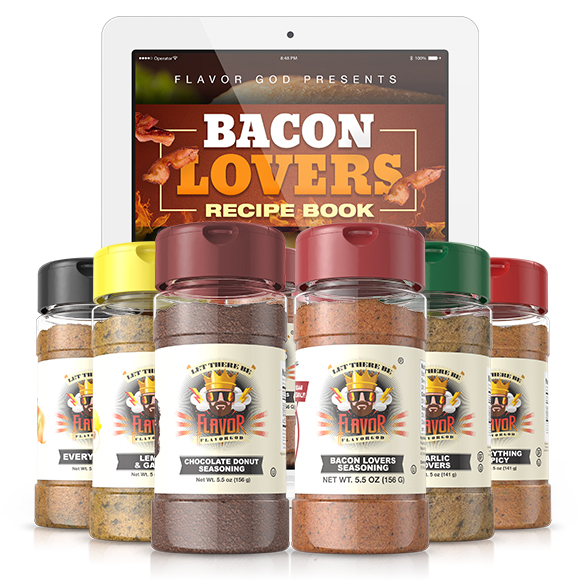 6 Pack - Classic Combo Pack + Bacon Lovers + CHOCOLATE DONUT SEASONING