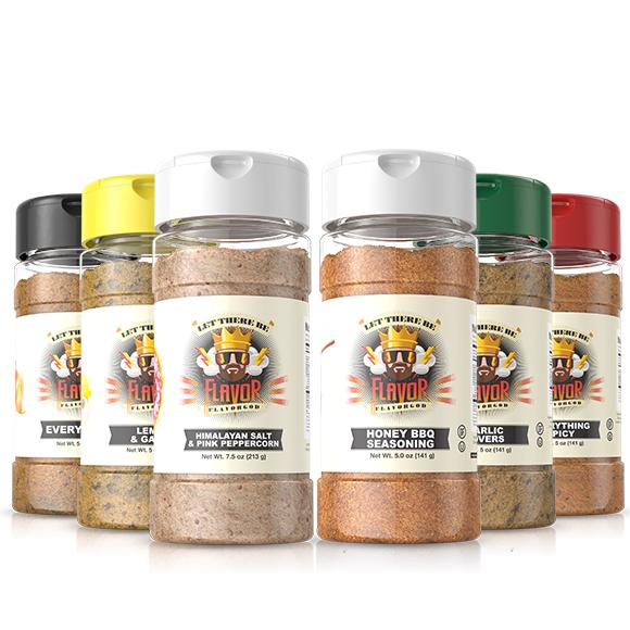 6 Pack - Classic Combo + Honey BBQ + Himalayan Salt Pepper