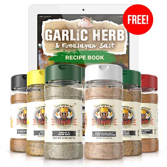 6 Pack - Classic Combo Pack + Garlic Herb & Himalayan Salt Seasoning + Himalayan Salt Pepper