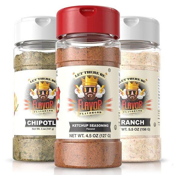 3 Bottle - 3 Bottle - Ketchup, Chipotle, Ranch