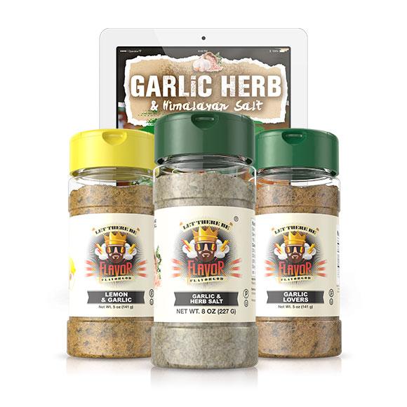 3 Bottle - Garlic Trio