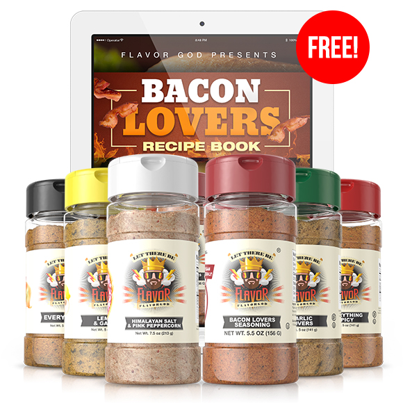 6 Pack - Classic Combo Pack + Bacon Lovers + Himalayan Salt Pepper