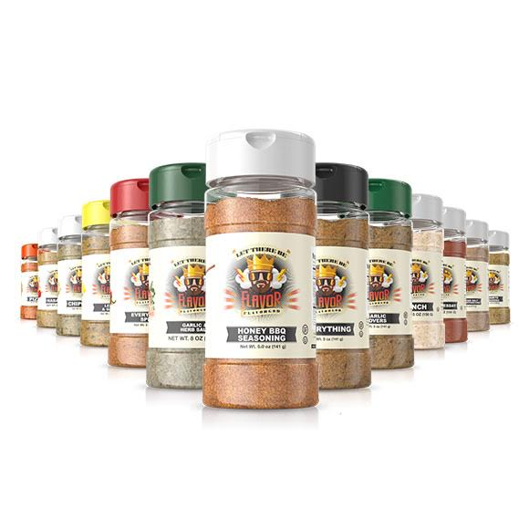 13 Bottle Combo Featuring Honey BBQ Seasoning