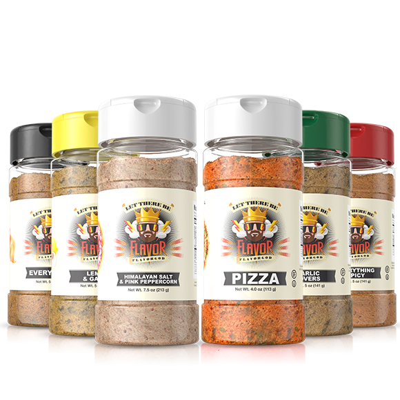 6 Pack - Classic Combo Pack + Pizza + Himalayan Salt Pepper