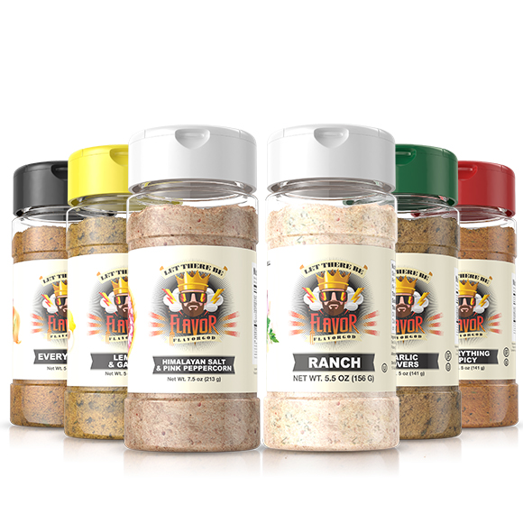 6 Pack - Classic Combo Pack + Ranch + Himalayan Salt Pepper