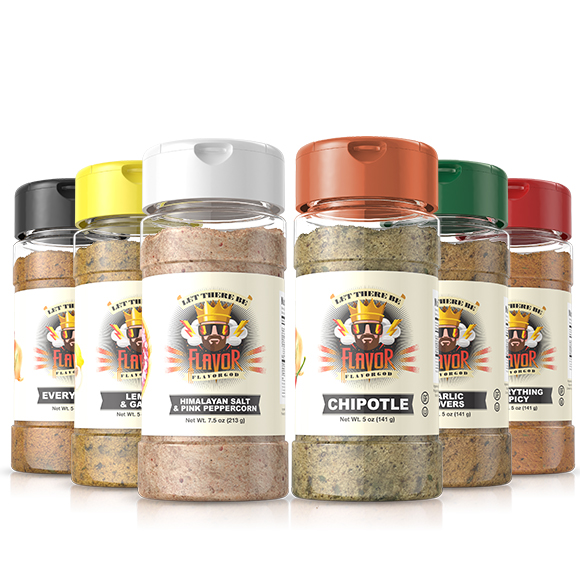 6 Pack - Classic Combo Pack + Chipotle + Himalayan Salt Pepper