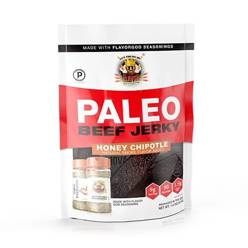 Flavor God Paleo Jerky - Honey Chipotle