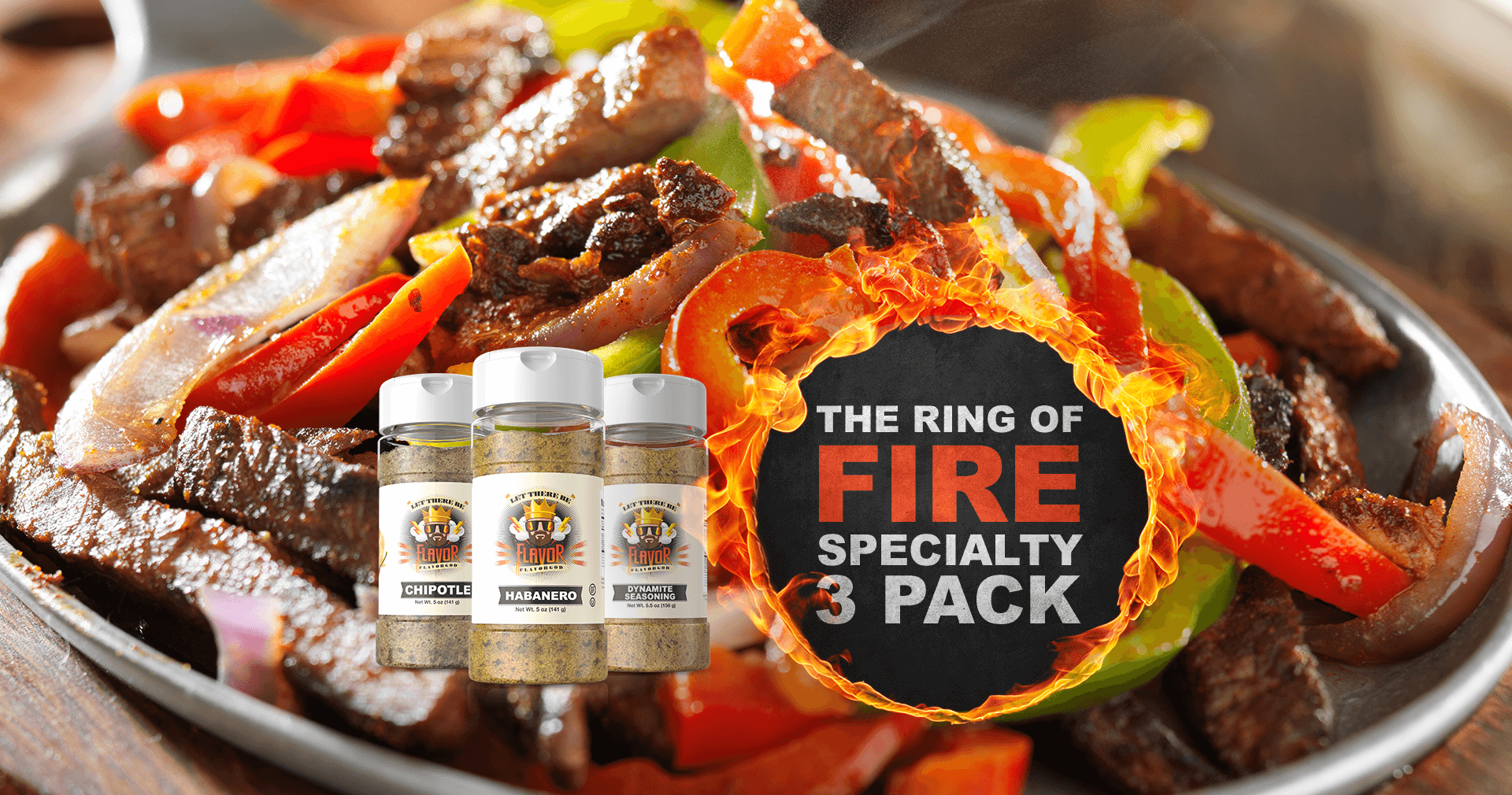 The RING OF FIRE Specialty pack