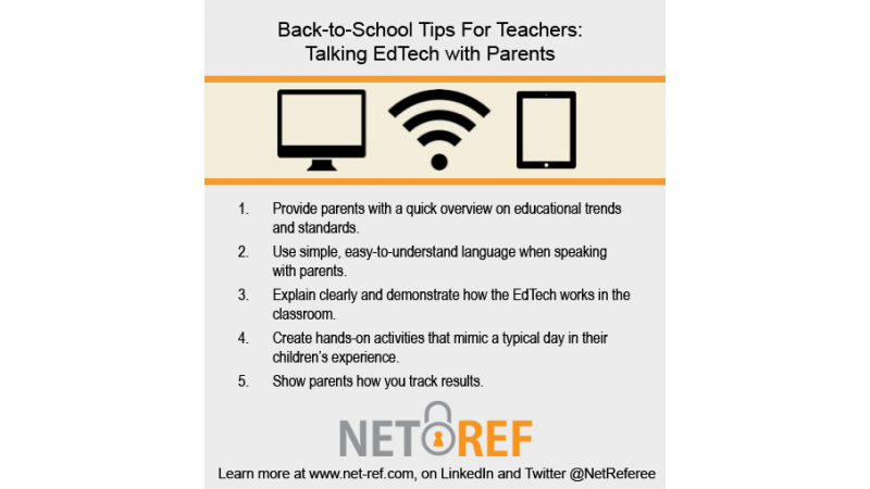 Back-to-School Tips for Teachers Talking EdTech with Parents