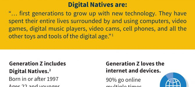 Infographic: Meet the Digital Natives!