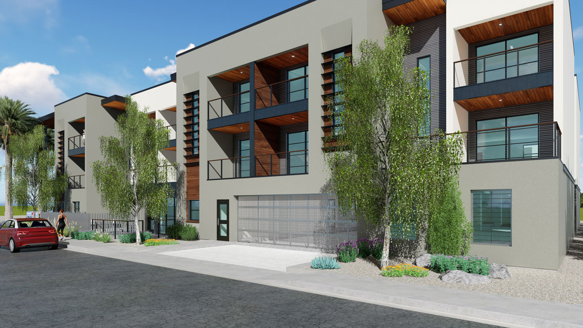 70th Street Lofts | 3425 North 70th Street, Scottsdale, AZ 85251 | 15 Units (Entitled) | $1,375,000 | $91,667 Per Platted Unit | $71.97 Per Lot SF