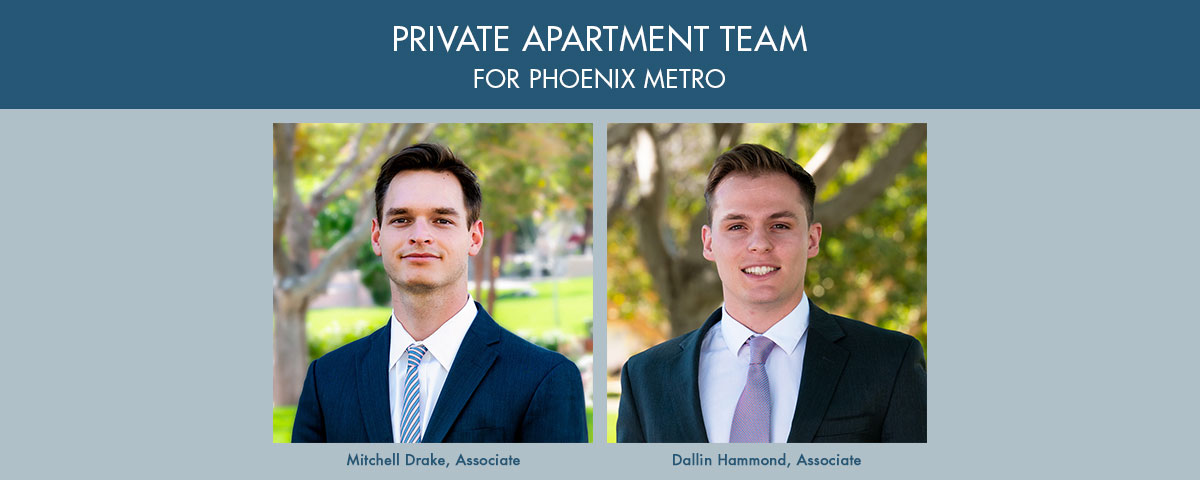 ABI Multifamily's Private Apartment Team for Phoenix Metro