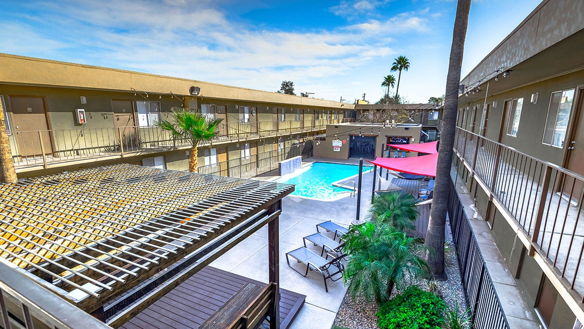 INDI Tucson | 1920 North First Avenue, Tucson, AZ 85719 | 88 Units | $8,000,000 | $90,909 Per Unit | $74.23 Per SF