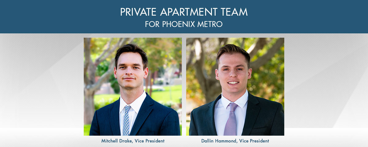 ABI Multifamily's Private Apartment Team for Phoenix Metro Promoted