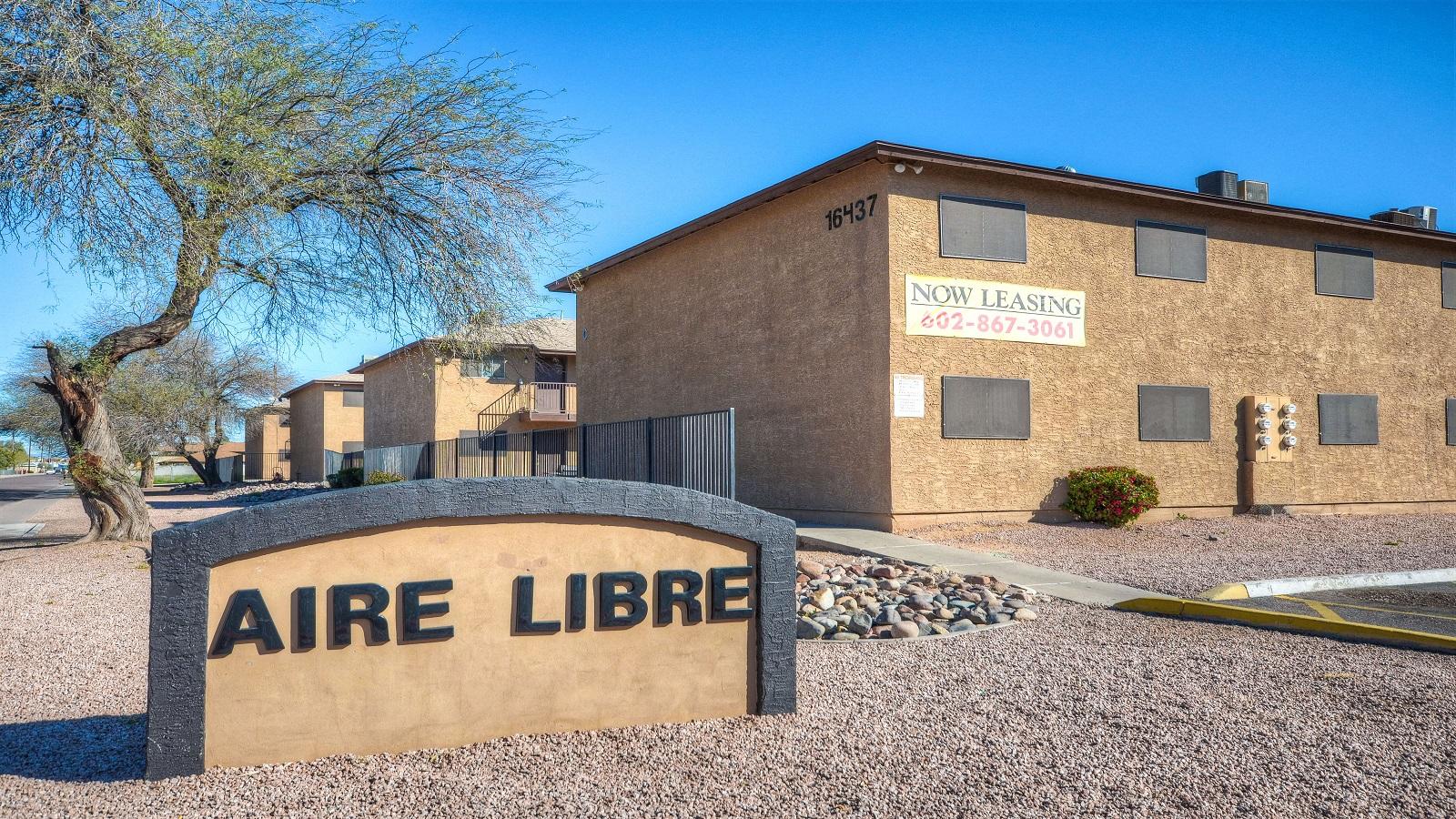 Aire Libre Apartments   16437 North 31st Street, Phoenix, AZ 85032   80 Units   Built in 1985   $5,250,000   $65,625 Per Unit   $93.92 Per SF