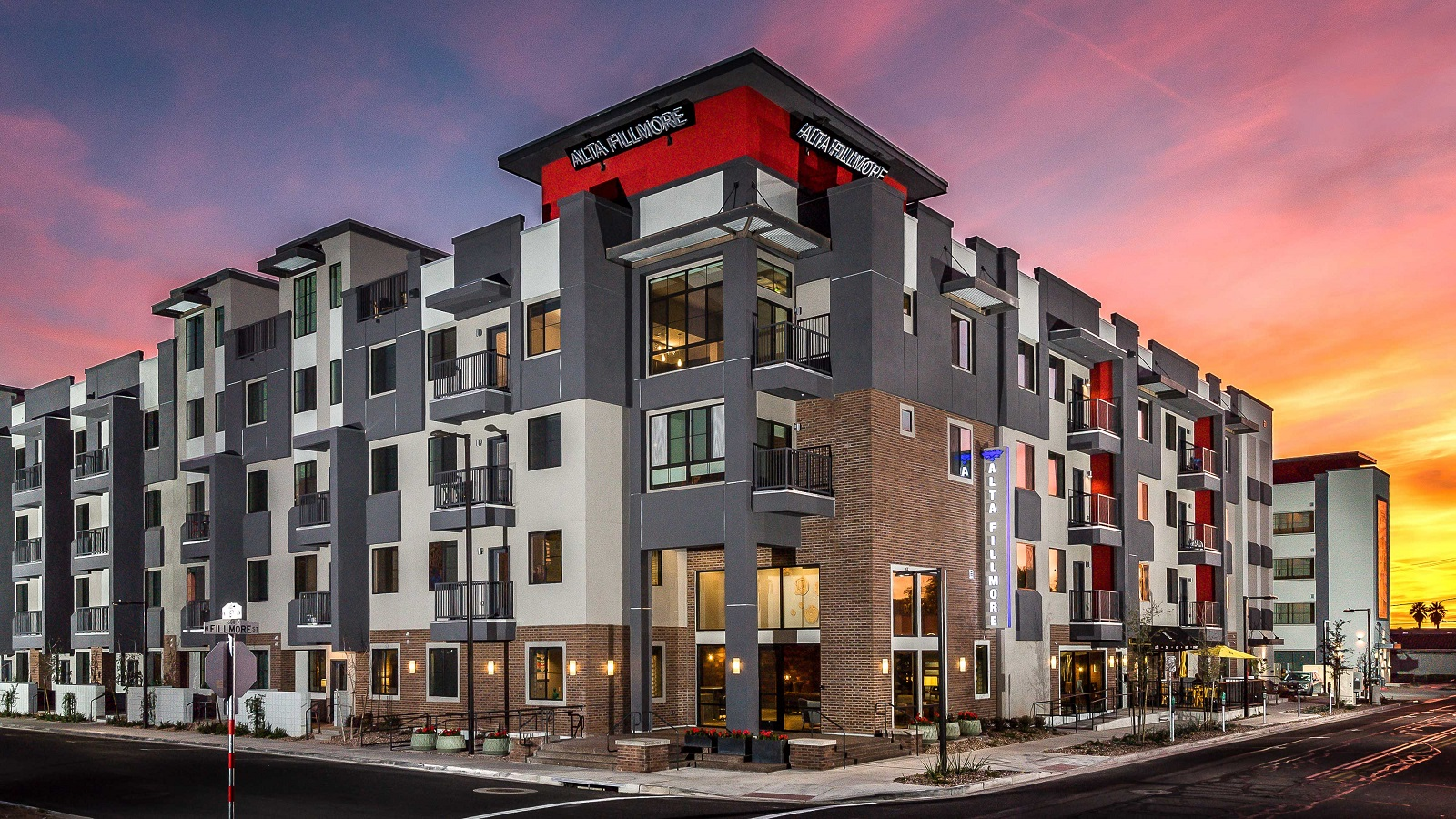 Alta Fillmore Apartments | 601 West Fillmore Street, Phoenix, AZ 85007 | 230 Units | Built in 2016 | $59,000,000 | $256,522 Per Unit | $274.72 Per SF