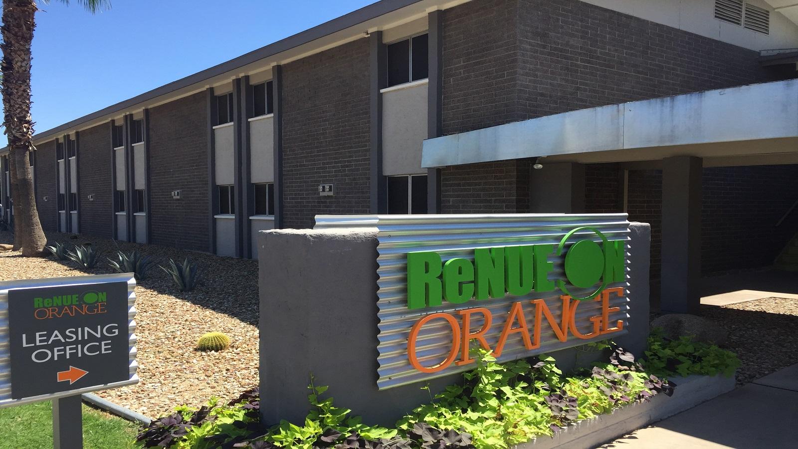 ReNue on Orange Pic