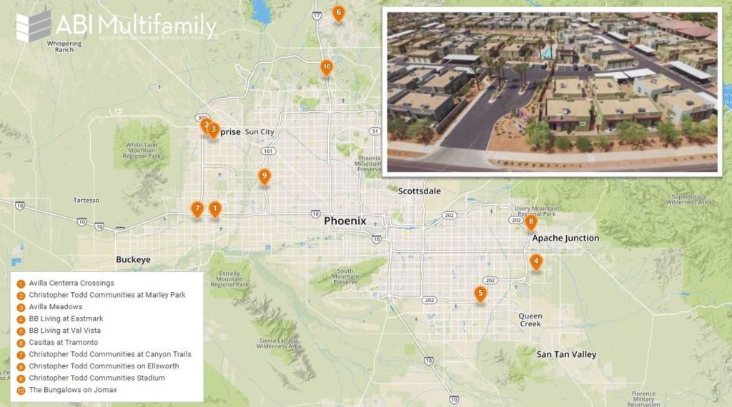 Neo-Garden Phoenix MSA Planned Map
