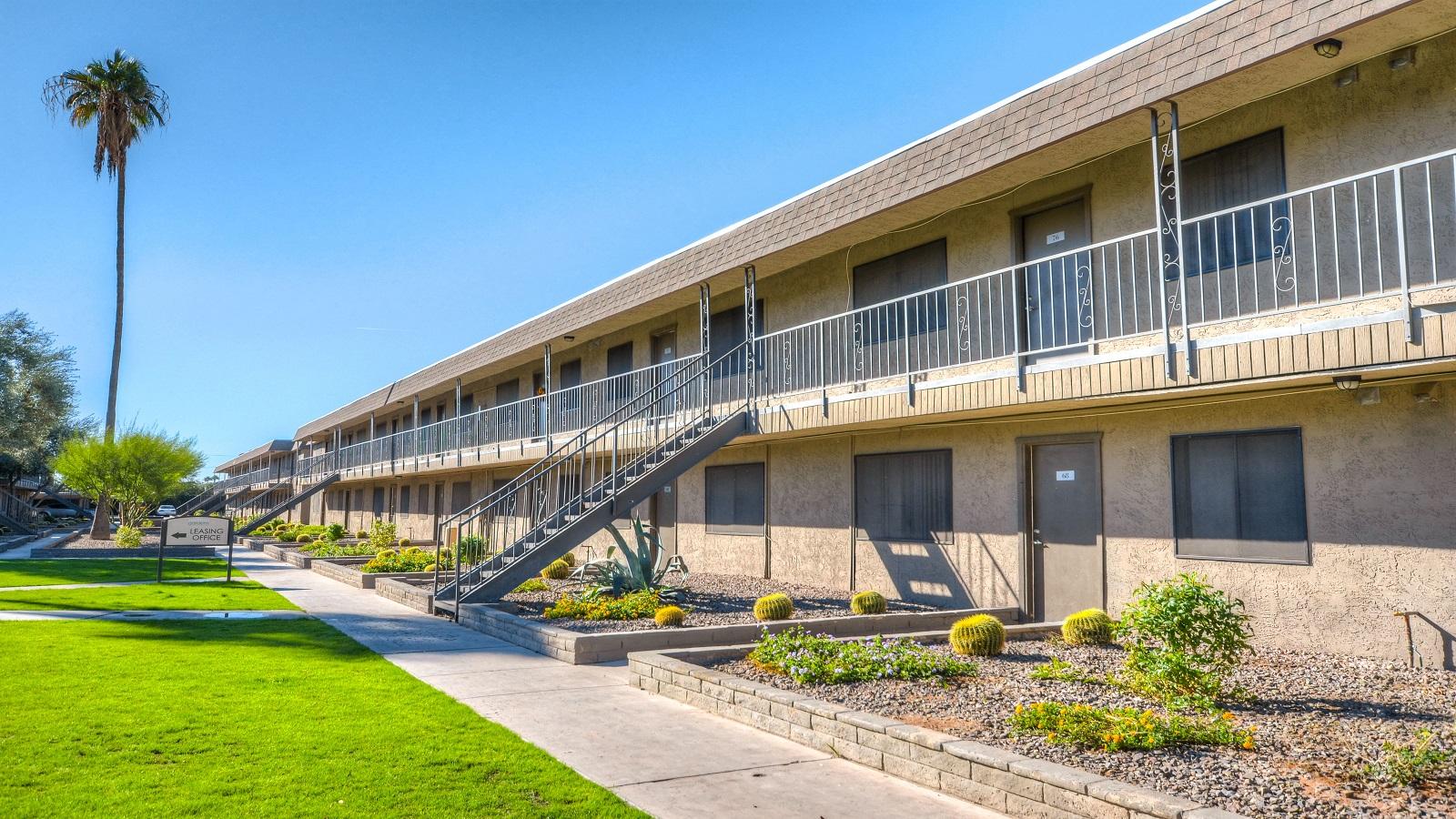 Serrano Gardens Apartments | 1915 East Broadway Road, Mesa, AZ 85204 | 97 Units | Built in 1973, Renovated 2016/17 | $8,825,000 | $90,979 Per Unit | $126.00 Per SF