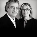 Nancy Olnick and Giorgio Spanu