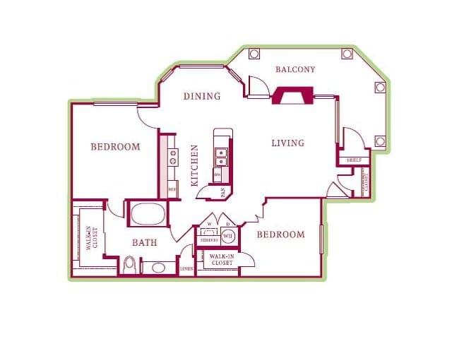 The Reserve at Canyon Creek - Floor Plans - Apartments for ...