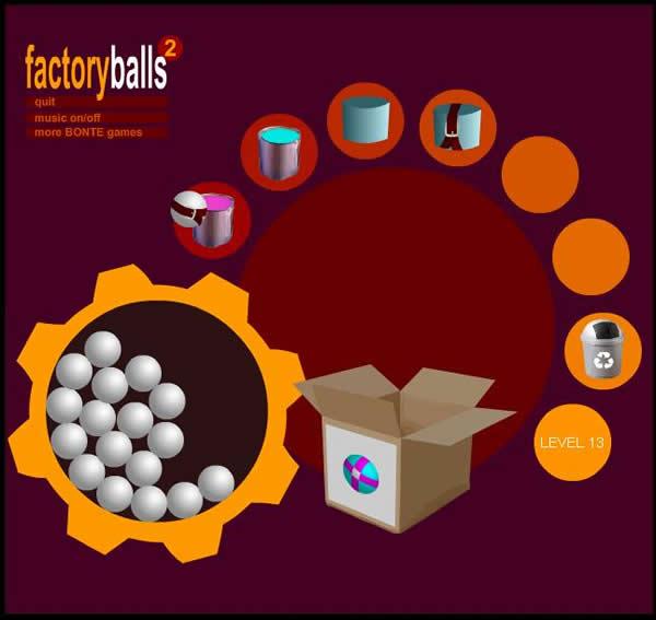 FactoryBalls 2 Walkthrough Level - 11 to 15