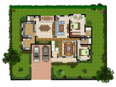 House layout simulator