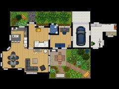 Nieuwe plattegrond - geeft een naam op made with Floorplanner